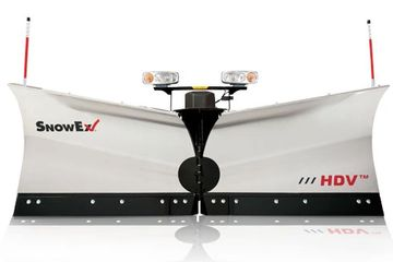 SnowEx HDV Stainless V-Plow.