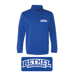 Bethel Swimming - Performance® Tech Q-Zip Pullover Sweatshirt