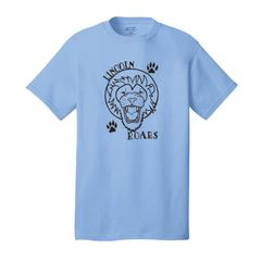 Lincoln Lions: Short Sleeve T-Shirt