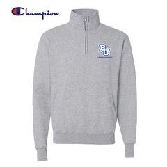 Bethel University Cross Country - Champion Quarter Zip Sweatshirt