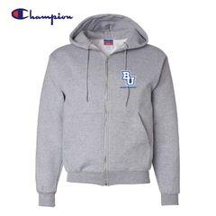Bethel University Cross Country - Champion Full Zip Sweatshirt