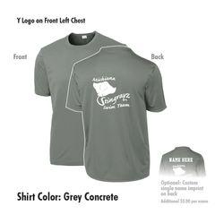 Michiana Stingrayz - Polyester Short Sleeve T-Shirt