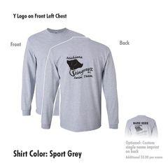 Michiana Stingrayz - Long Sleeve T-Shirt