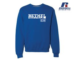 Bethel University Track & Field - Crewneck Sweatshirt (2)