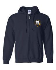 ND 911 Full Zip Sweatshirt