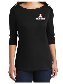 Three-Quarter Length Long Sleeve T-Shirt