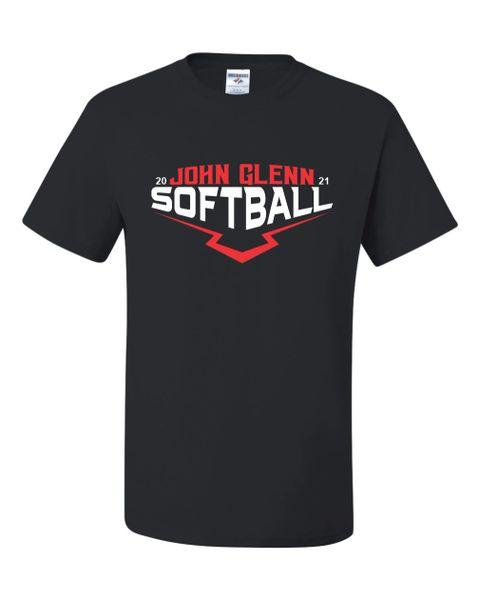 John Glenn Softball T-shirt