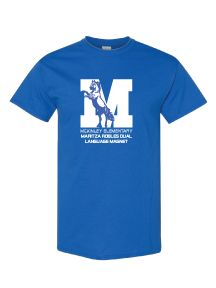 McKinley Elementary Maritza Robles Dual Language Magnet Short-Sleeve T-shirt - FOR STUDENTS