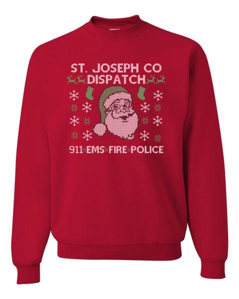 Dispatch Ugly Christmas Sweatshirt
