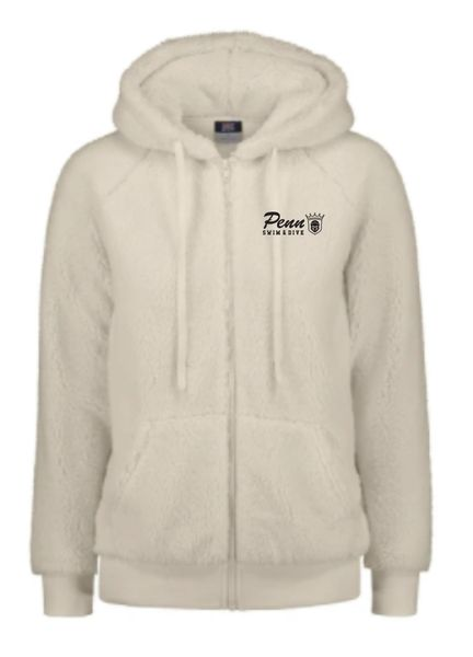 Penn Swim Ladies Sherpa