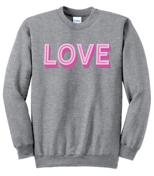 Love - The Crewneck Sweatshirt