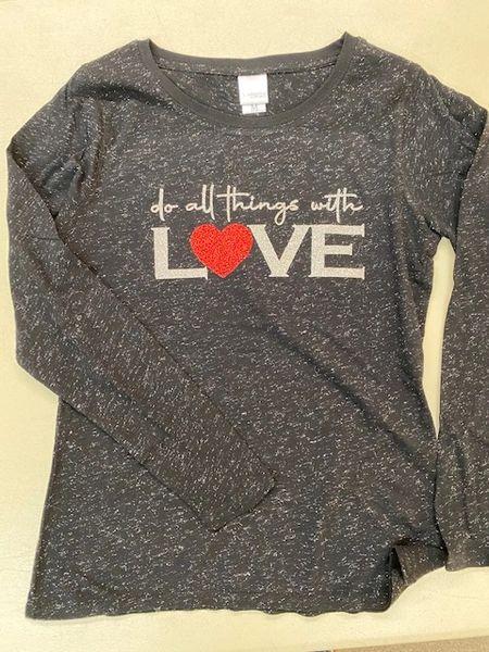Do All Things... Glitter Shirt