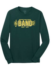 Discovery Middle School Band Long-Sleeve T-Shirt