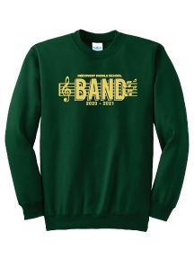 Discovery Middle School Band Crewneck Sweatshirt