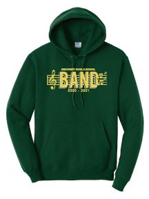 Discovery Middle School Band Hooded Sweatshirt