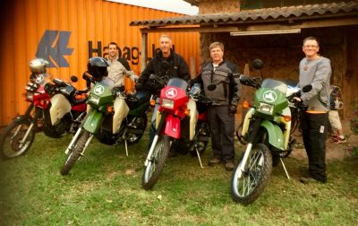 Guided Motorcycle Adventure Tour