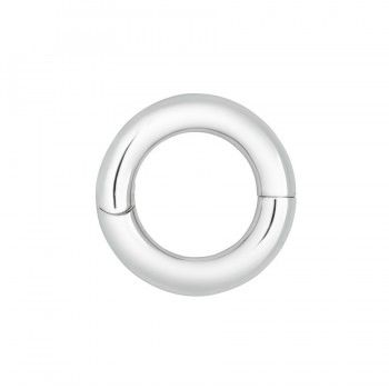 Circle of Love Pendant-Satin Finish Sterling Silver
