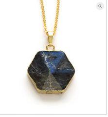 Black Moonstone Pendant