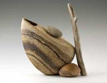 Ancient Stone Tea Pot
