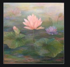 Pink Lotus by Amira Dvorah