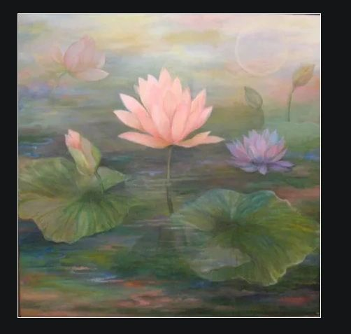 Pink Lotus by Amira Dvorah