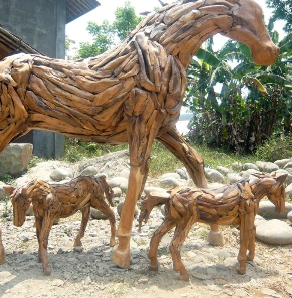 Teak Root Baby Horse