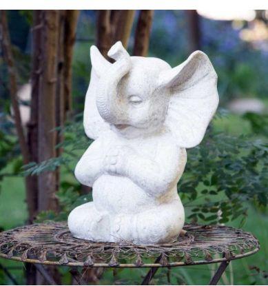 Meditating Elephant