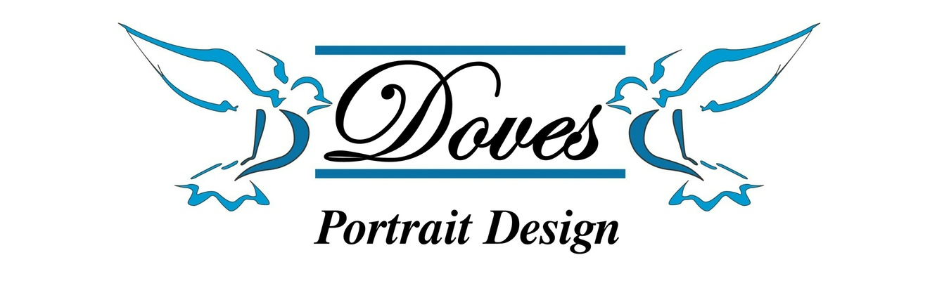 Doves Portrait Design