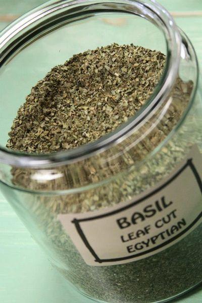 Basil Leaf Cut Egyptian - by the ounce