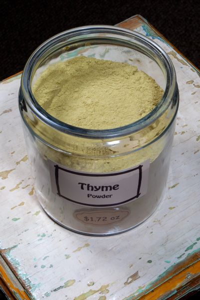 Thyme Powder - by the ounce