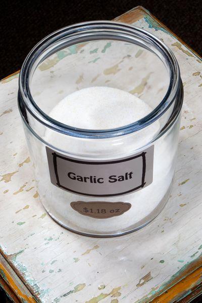 Garlic Salt - by the ounce