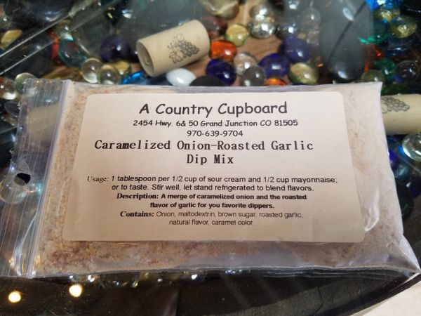Caramelized Onion-Roasted Garlic Dip Mix
