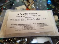 Wasabi Soy Ranch Dip Mix
