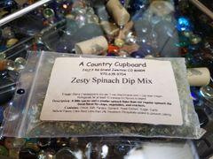 Zesty Spinach Dip Mix