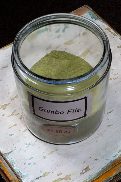 Gumbo File - by the ounce