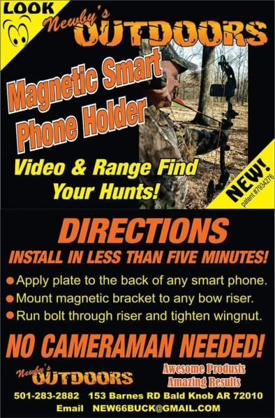 Magnetic Smart Phone Holder - Record your own hunt