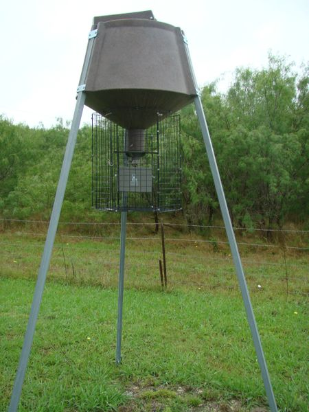 Boss Buck Tough Roto Molded Plastic Deer Feeder  350# Gravity Feed With  106