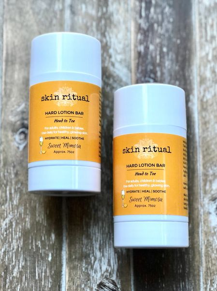NEW! Hard Lotion Bar, Head to Toe 2.65oz