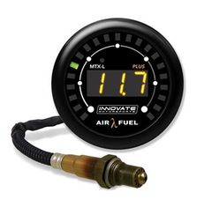 Innovate MTX-L PLUS Digital Air/Fuel Ratio Gauge Kit 3ft w/O2 Sensor