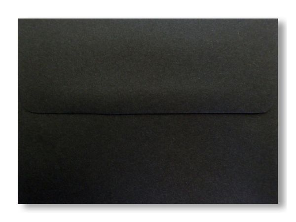 midnight black envelopes for greeting cards  invitations