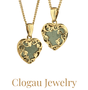Clogau jewelry available from Eagle and Pearl Jewelers.