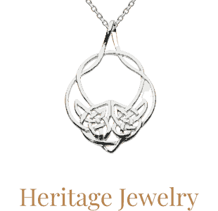 Heritage jewelry available from Eagle and Pearl Jewelers.