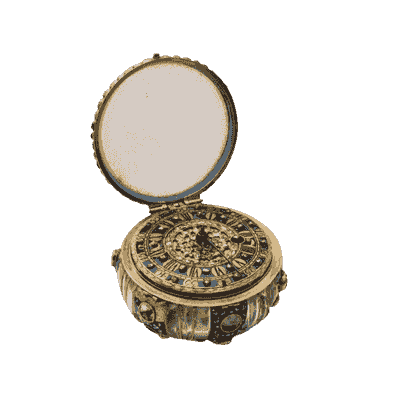 Peter Parquot jewel encrusted pocket watch commissioned by Queen Ann and made for Peter the Great.