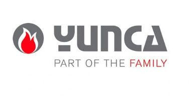 Yunca part of the family , yunca wood heater logo.