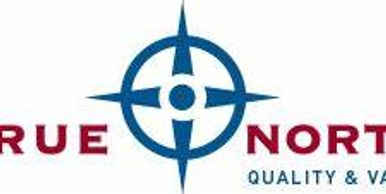 True north ,quality and value logo