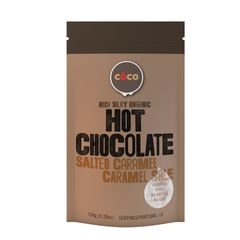 COCO - Organic Hot Choclate - Salted Caramel 150g