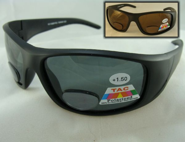 POLARIZED BI-FOCAL SUNGLASSES #PC7186BF