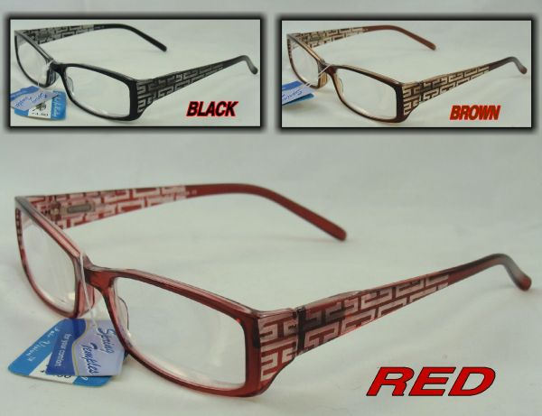EXTRA STRONG HIGH POWER HALF FRAME READERS +6.50 & +7.00 # R118