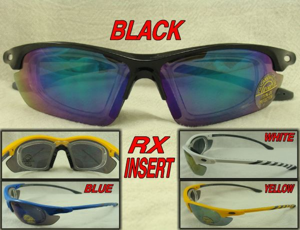 SPORTS SUNGLASSES RX ADAPTER #89228PR