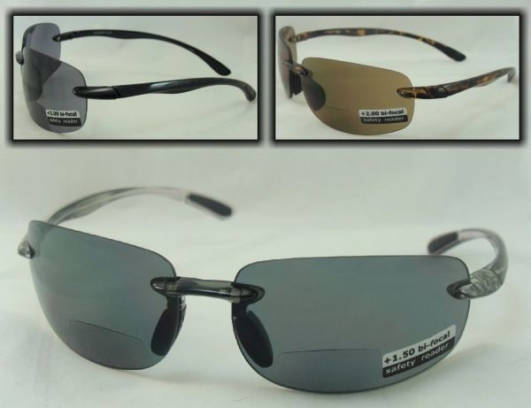 PC SAFETY LENS BI-FOCAL SUNGLASSES # PCR47BF